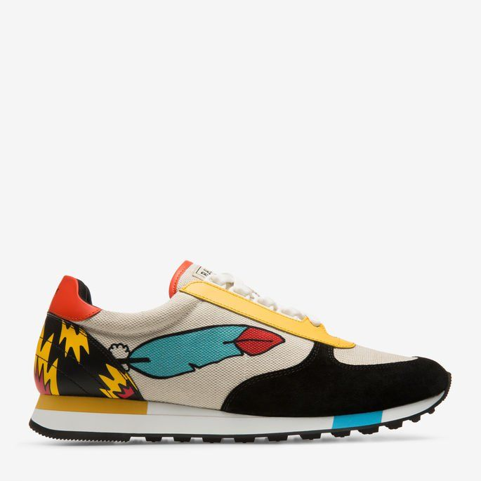 900e5018ef3 These men s sneakers from Bally x Swizz Beatz are a classic fabric sneaker  style with Ricardo Cavolo prints. Shop the Gavino sneakers from Bally US.