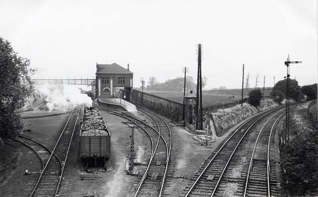 Granton Gas Works Station and Yard - 1934