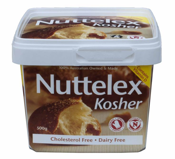 Nuttelex Kosher available at Woolworths & Coles in Victoria and NSW only