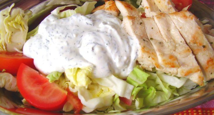 Gyors saláta natúr csirkemellel | APRÓSÉF.HU - receptek képekkel