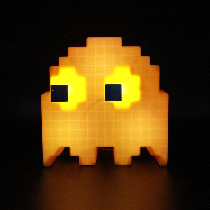 Pacman Ghost Light #colorchanging, #LED, #Pac-Man