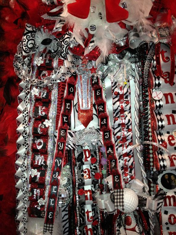 homecoming mums | The Modern Mum Homecoming Mums by AngelsNestFlowers on Etsy