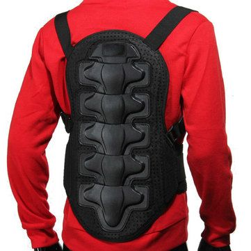 Racing <b>Motorcycle</b> Body Back Armor Spine Protective <b>Jacket Gear</b> ...