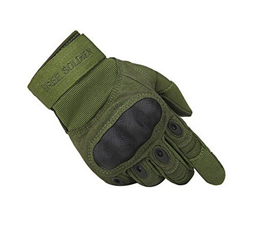 Wear-resistant Antiskid Rock Climbing Riding Gloves GREEN, XL Check out the image by visiting the link.