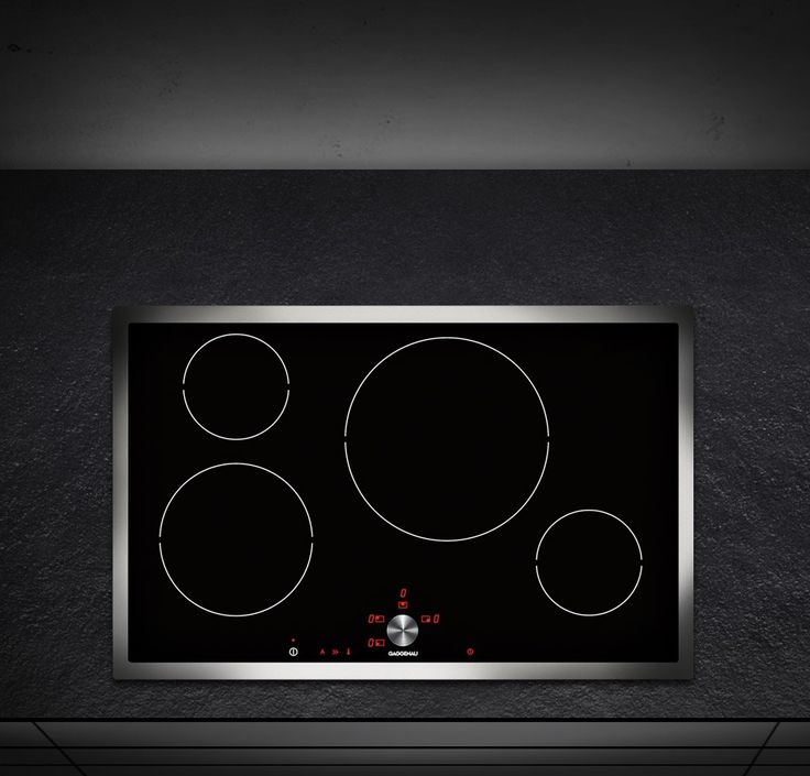 Awesome Induction Cooktop   The CI 481 Has Four Cooking Zones With 17  Electronically Adjustable Power Levels