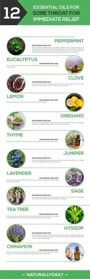 12 Essential Oils for Sore Throat for Immediate Relief – Naturally Daily