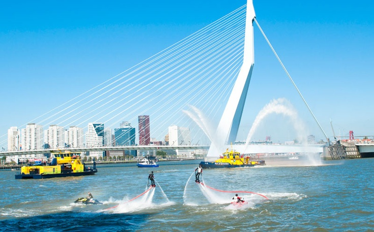 FlyboardTeam.com - Openings ceremonie Havendagen Rotterdam