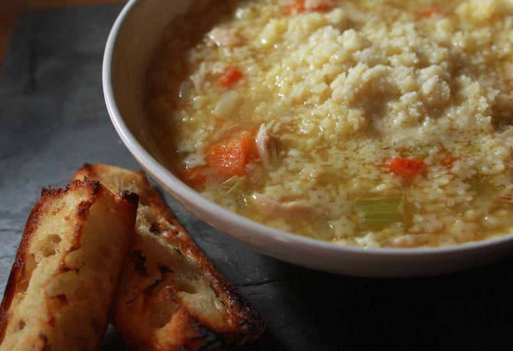 Pastine Chicken Soup