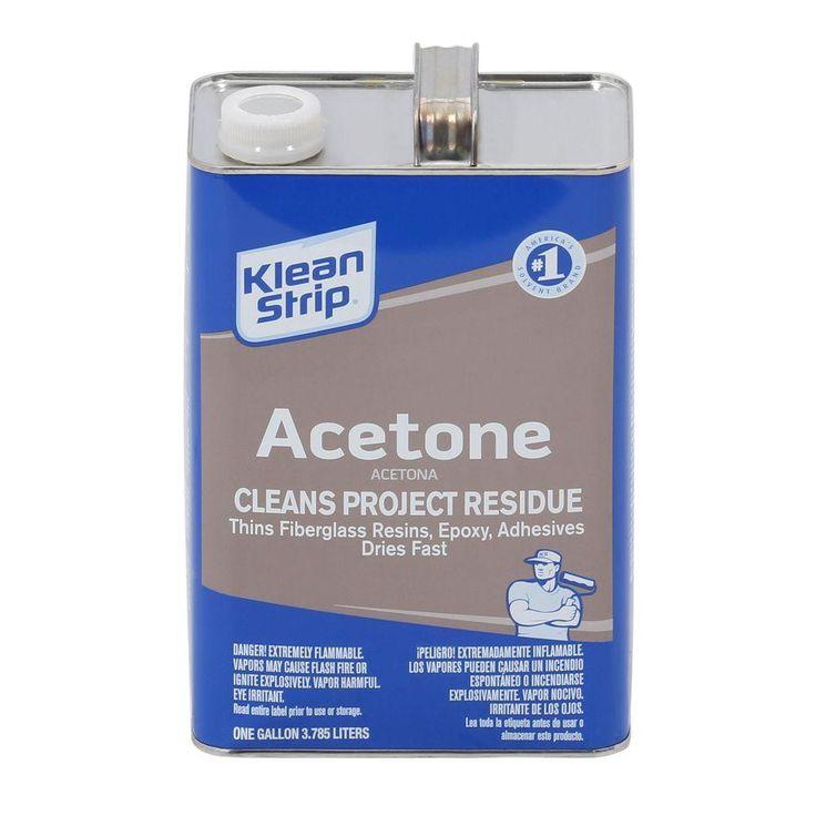 Kleanstrip 1 gal acetonegac18 acetone home depot