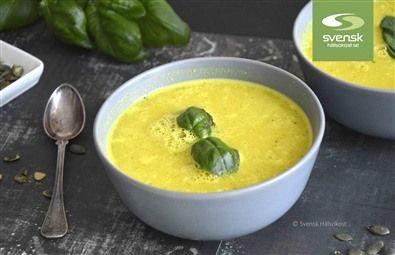Recept på currysoppa.