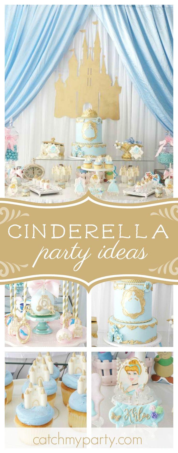 259 best Cinderella Party Ideas images on Pinterest | Cinderella ...