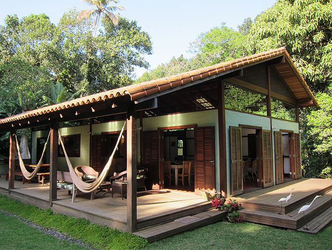Sítio, Ilha Grande, Brazil   Modern Vacation Home Rentals