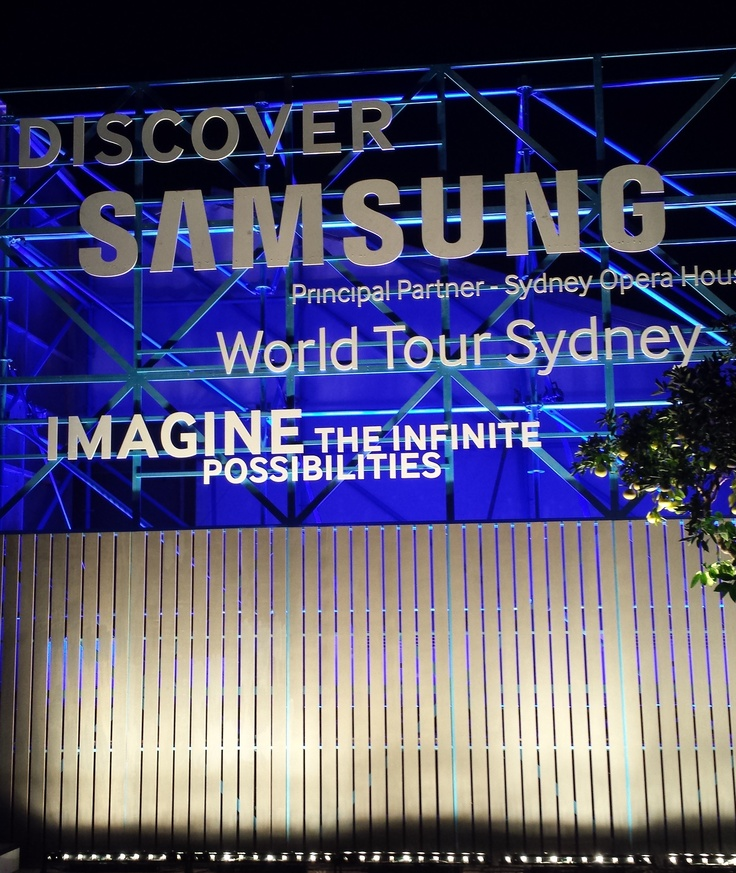 Samsung Phone Launch at the opera house
