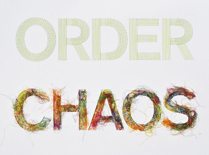 Peter Crawley~ order VS. ChAoS