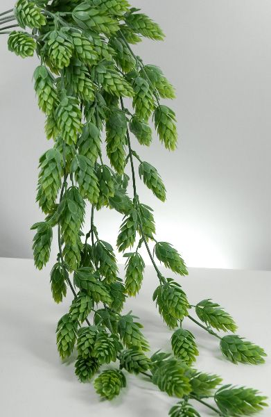 """We cut the buds off these for centerpiece confetti at our wedding. -30"""" Artificial Hops Garland Vine-"""