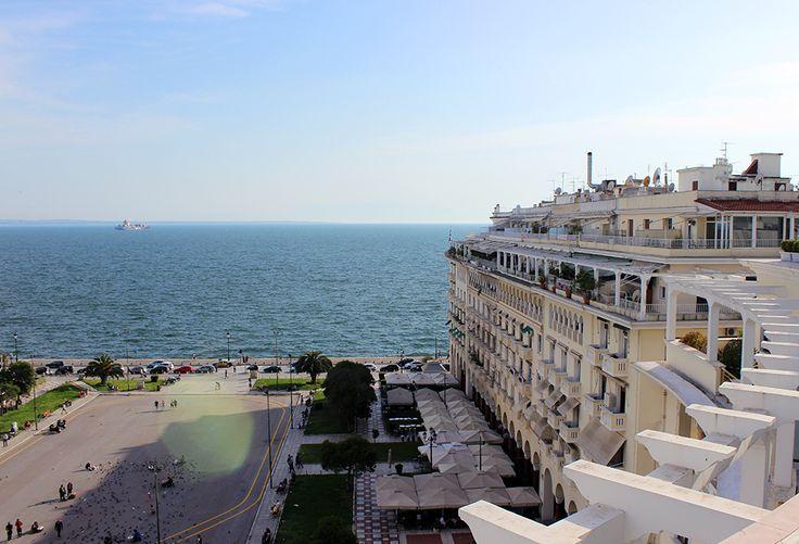#Thessaloniki #rooftop #ElectraPalace #Hotel #Aristotelous #Sun #paralia #Sea #Morning #beauty #city #Hometown #skg #vfm911 #vfm #911