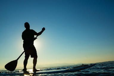Stand Up Paddleboarding- Peace Retreat Costa Rica tours and adventure - yoga surf wellness adventure