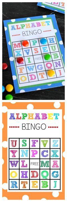 Alphabet ABC Bingo, Spiel, Anlaut, Deutsch, phonologische Bewusstheit, Vorschule, Klasse 1, hören, Anlaut