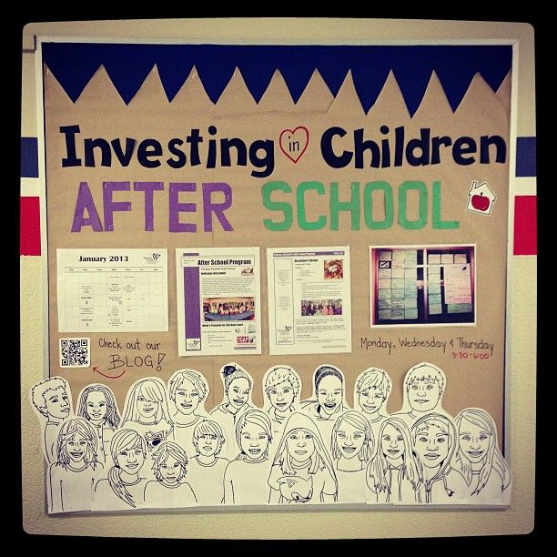 After School Program Blog — Investing in Children - interesting poster