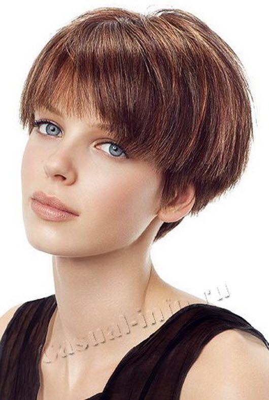 Картинки стрижка на средние волосы фото