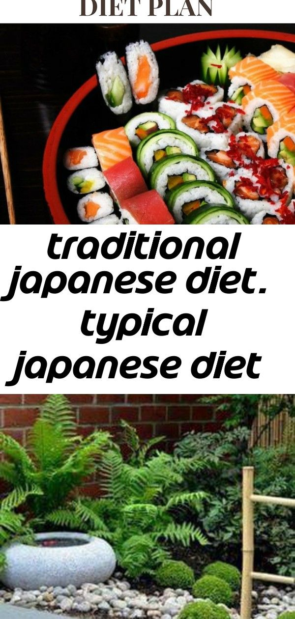 Traditional Japanese Diet Typical Japanese Diet Plan 2 Japanese Diet Japanese Traditional Diet Plan