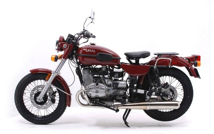 Мотоцикл Урал Solo sT 2011