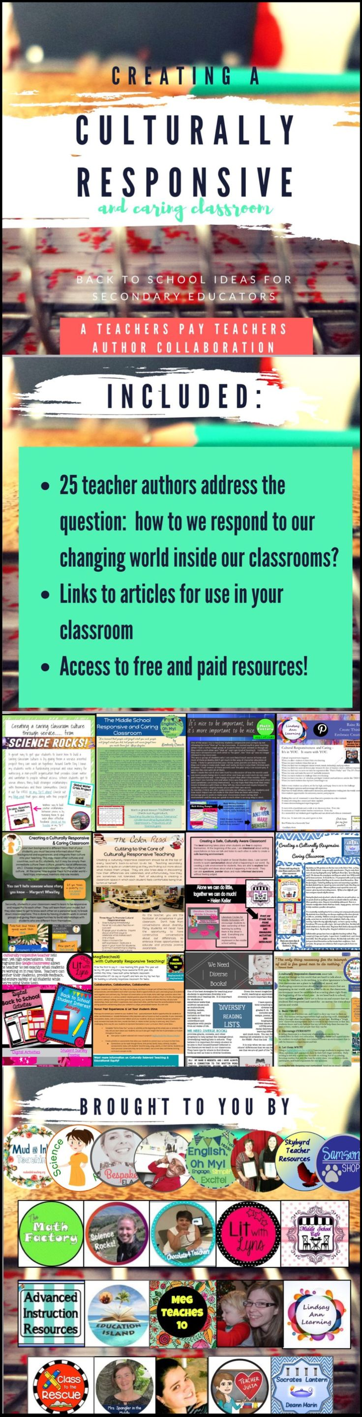 83 best culturally responsive teaching images on pinterest spanish 25 teachers got together to talk about how to deal with our changing tumultuous world fandeluxe Gallery