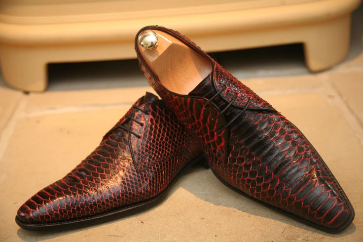 Jeah! Mildly midlife crises ... Amazing RARE Jeffery West Snake Skin Mens Designer Shoes UK 9 5
