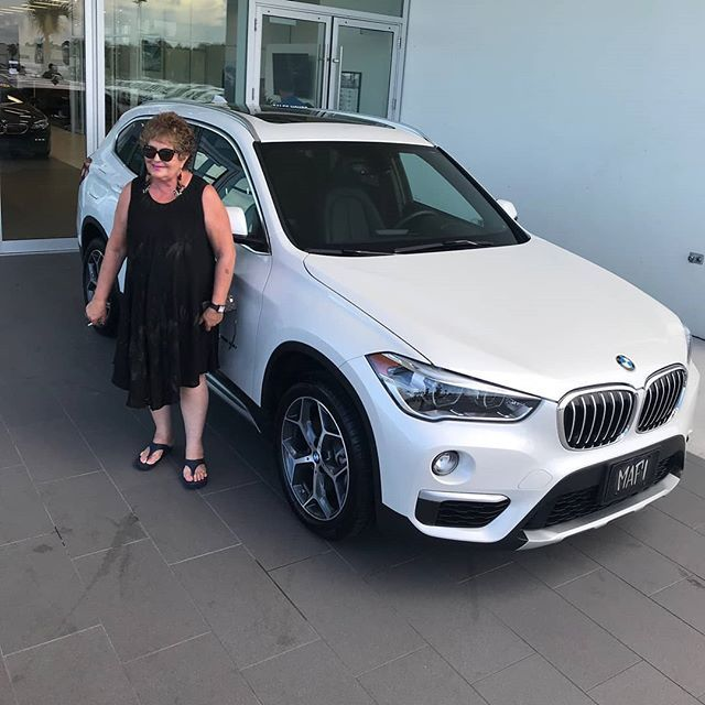 Regram From Bmwofdaytonabeach Congratulations To Ms Mangaudis On Taking Delivery Of Her First New Bmw X1 From Fieldsbmw In Dayton Bmw New Bmw X1 Bmw