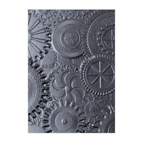 Sizzix Textured Impressions 3D Winter Snowflakes Embossing Folder 662287