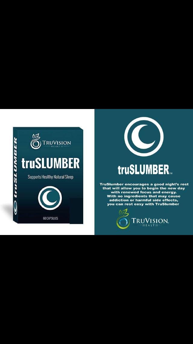 TruSlumber by TruVision Health  Get yours now! www.tru4u.truvisionhealth.com