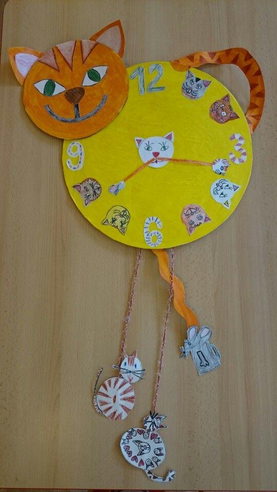 Kočičí hodiny
