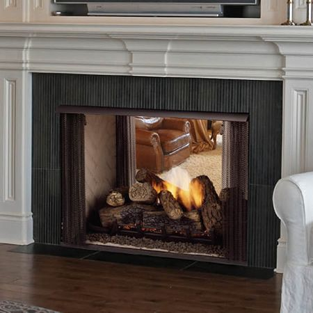 1000 Images About Double Sided Fireplace On Pinterest