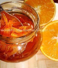 O poveste de dragoste…culinară: dulceaţa de coji de portocale | Bucataria Familiei Mele