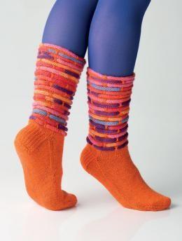 bunte Socken stricken - die stehen weit oben auf meiner Wunschliste