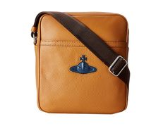 Cool Man Purse.. Getting pretty close to the perfect one. Vivienne Westwood Man Small Bag Messenger Bags - 30% off, now $255.0 @ #6pm.com  #VivienneWestwood