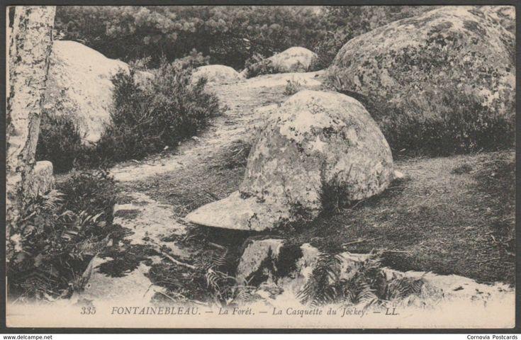 Le Casquette du Jockey, Forêt de Fontainebleau, France, c.1910 - Lévy CPA LL335