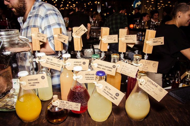 ZAMIESZANIE Coctail bar is just 3 minutes from the hostel. The interior is extraordinary and each drink is a masterpiece.