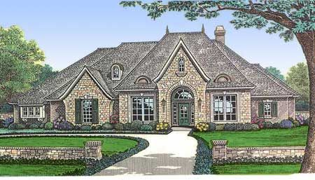 25 best french house plans ideas on pinterest french for Large french country house plans