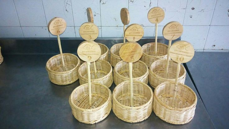 Cane sauce basketry