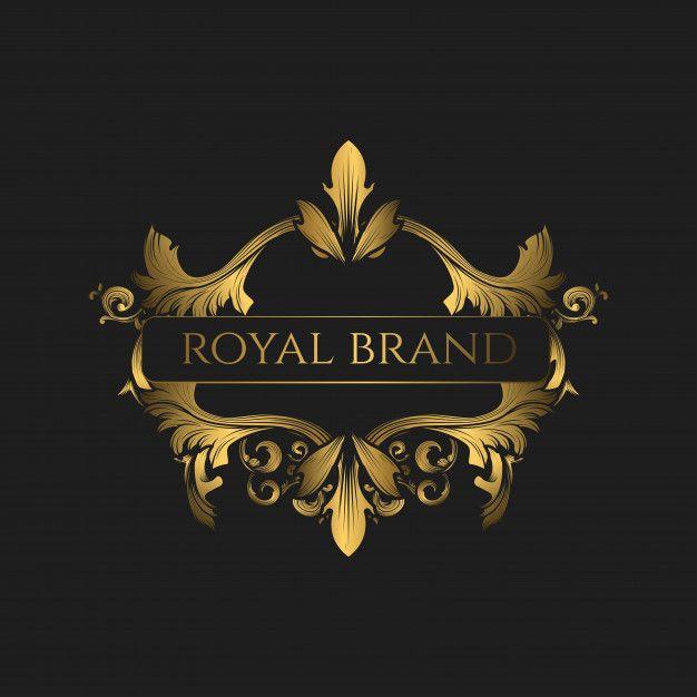 Logo Luxury With Golden Color Golden Logo Design Glitter Business Cards Golden Color