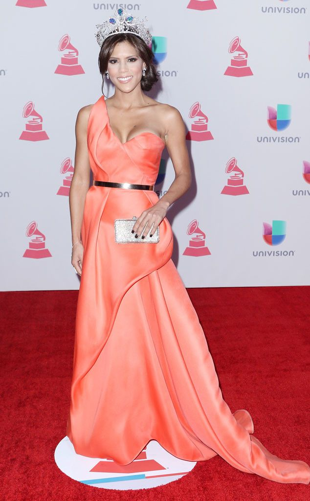 Francisca Lachapel from 2015 Latin Grammy Awards Red Carpet Arrivals  Is there a better time for the Nuestra Belleza Latina 2015 beauty queen to wear her tiara? We think not.