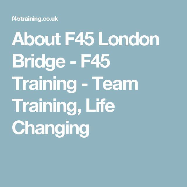About F45 London Bridge - F45 Training - Team Training, Life Changing