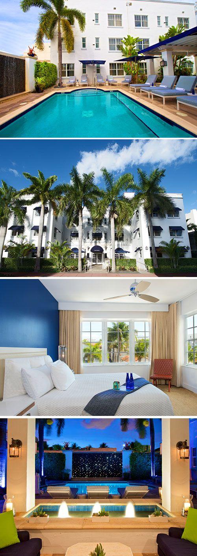 Welkom in The Sunny State Florida! Met 300 dagen per jaar zon kun je tijdens een verblijf in Blue Moon Hotel in Miami Beach rekenen op een flinke dosis zon. Komt het even mooi uit dat dit driesterren hotel in het Art Deco Historic District beschikt over een binnentuin met zwembad!