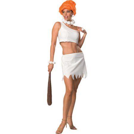 Wilma Flintstone Sassy Adult Halloween Costume, Women's, Size: XS, Multicolor