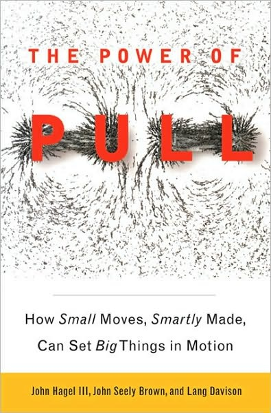 The Power of Pull: how small moves, smartly made, can set big things in motion.