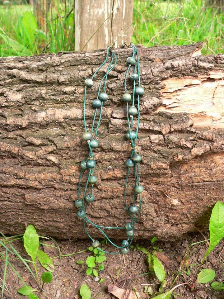 "necklace ""mori kei lady""  Woods"