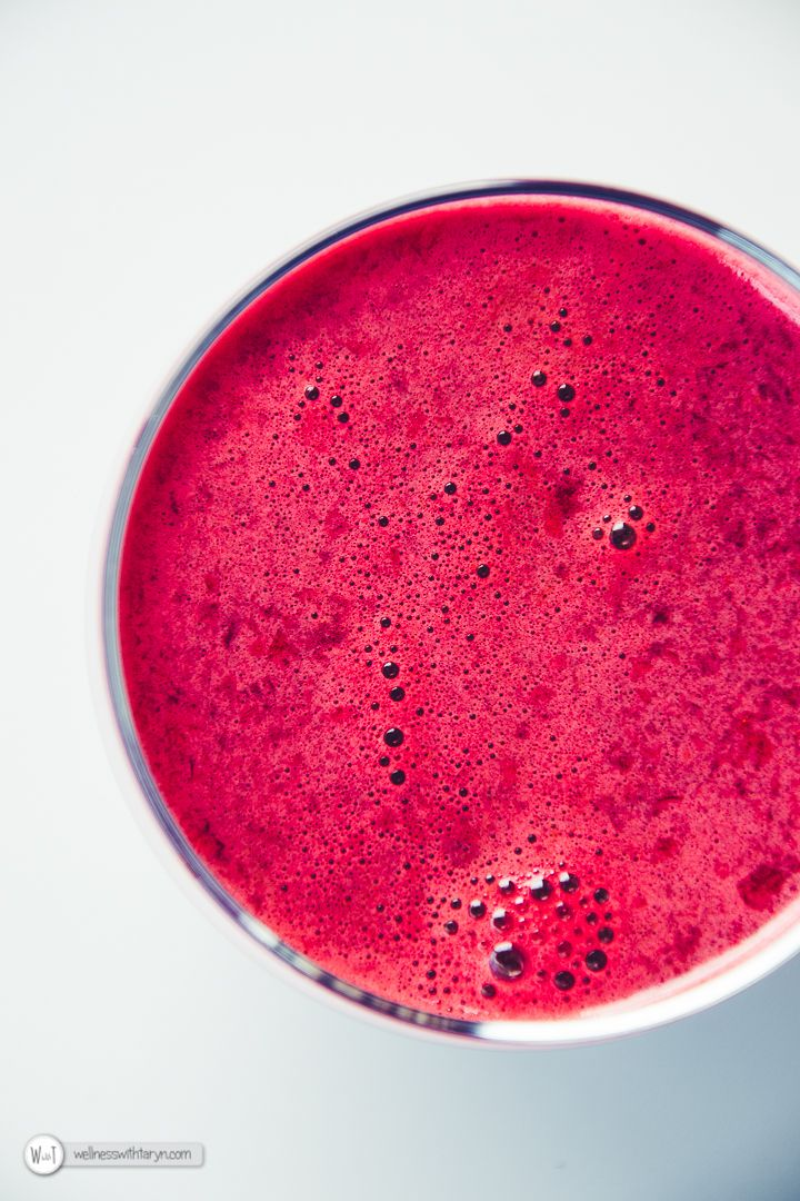 Warming Beetroot Carrot and Ginger Juice