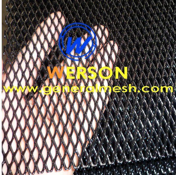 Universal Black Aluminium Racing Race Honeycomb Mesh Grille Mesh 135 X 30cm Aperture 12x6 Mm Color Black Material Alumini Aluminium Diamond Mesh Grilles