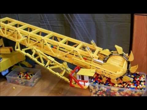 Lego Bucket Wheel Excavator - YouTube
